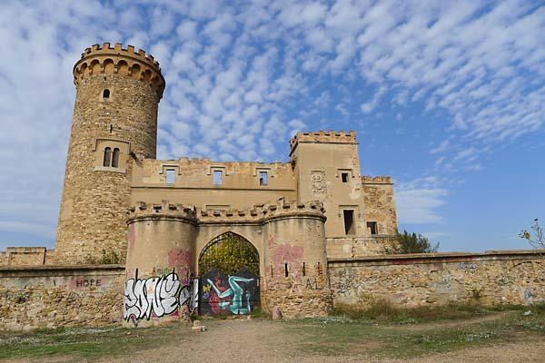 Colònia Güell torre Salvana