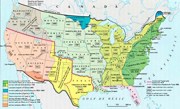 aleix font colonia mapa USA