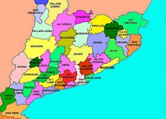 UN JOC: MAPA COMARCAL DE CATALUNYA
