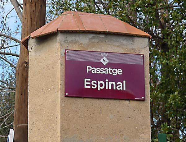Passatge Espinalt Colònia Güell