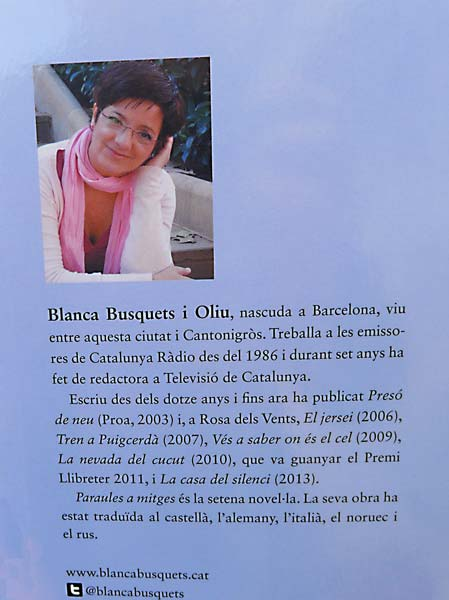 Blanca Busquets - Paraules a Mitges