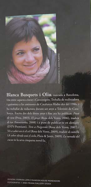 Blanca Busquets Nevada Cucut