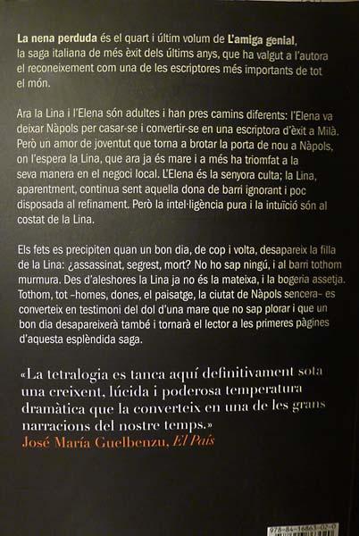 Elena Ferrante La Nena Perduda