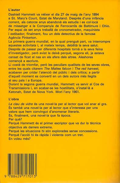 Dashiell Hamet - La Clau de vidre