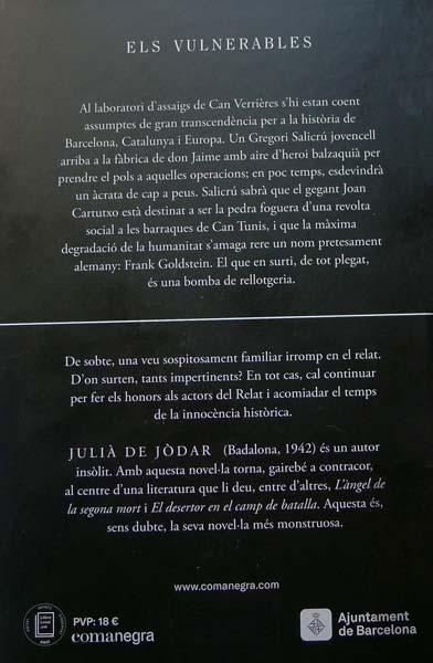 Els Vulnerables Julià Jòdar