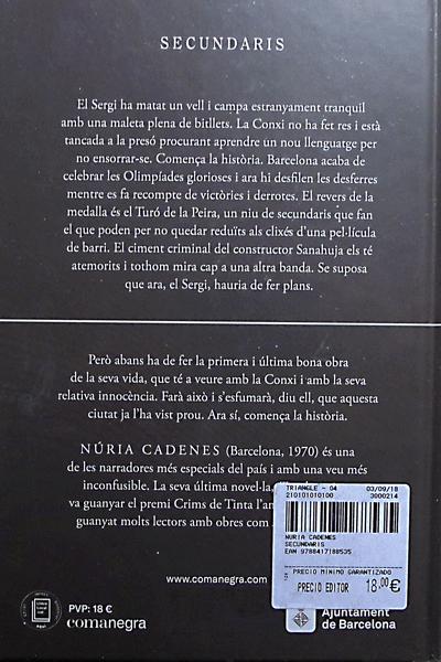 Llibre de Núria Cadenes