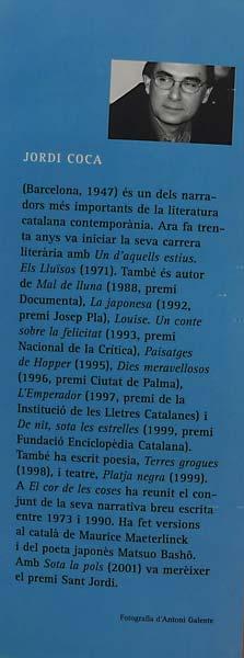 Sota la pols-Jordi Coca