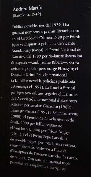 Societat Negra Andreu Martín