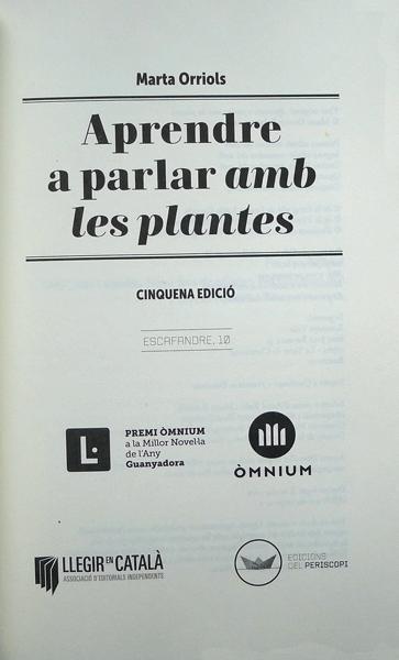 aprendre parlar plantes marta orriols