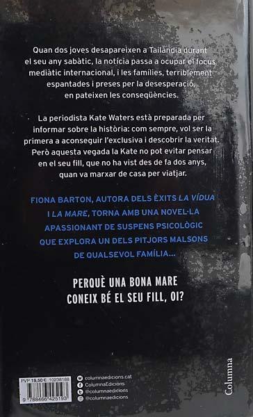 La Sospita de Fiona Barton