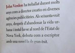 JOHN VERDON – un dels millors