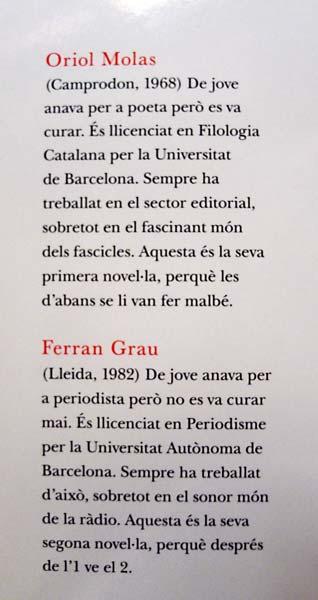 Oriol Molas i Ferran Grau
