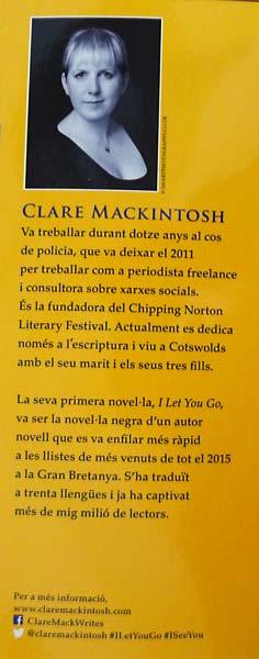 Clare Mackintosh