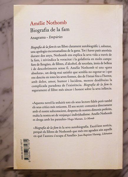 Biografia de la fam