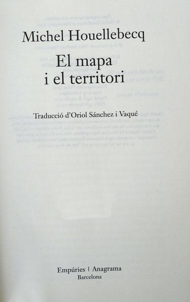 El mapa i el territori