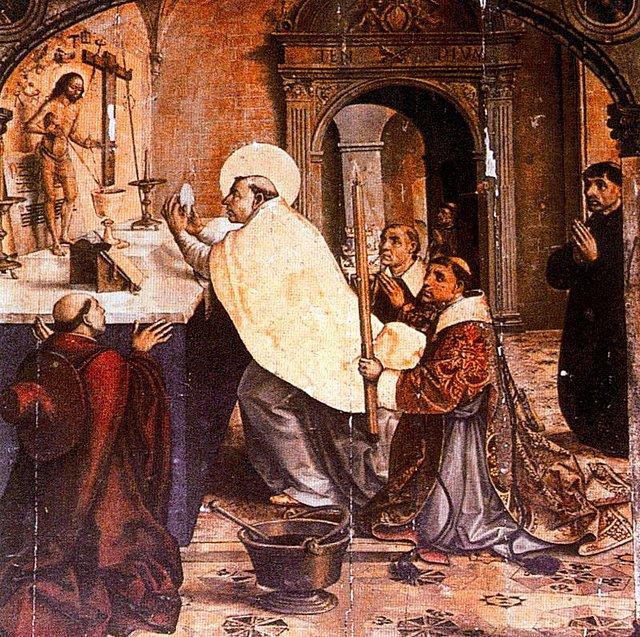 La missa. Foto Wikipedia