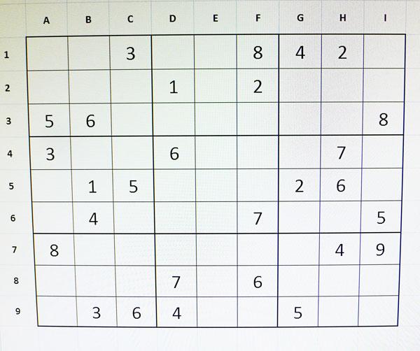 sudoku difícil