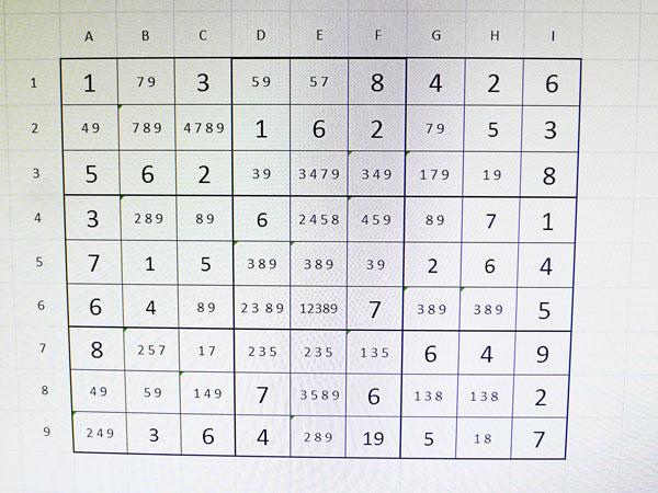 Sudoku pas a pas
