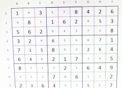 SUDOKU – El joc de les xifres solteres
